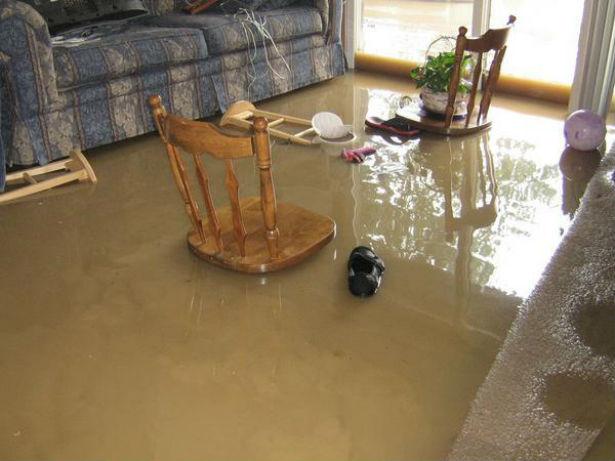 vandskade i lejlighed