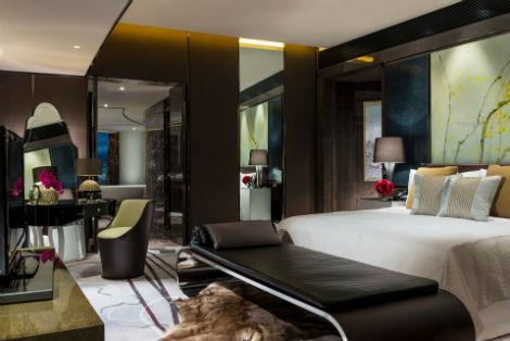 kæmpe fisse hotel med spa på værelset