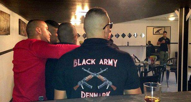 black army århus