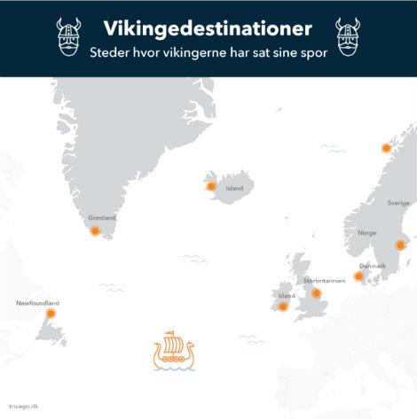 67b9d5fb Den Korte Avis | Her var vikingerne for 1000 år siden – besøg de ...