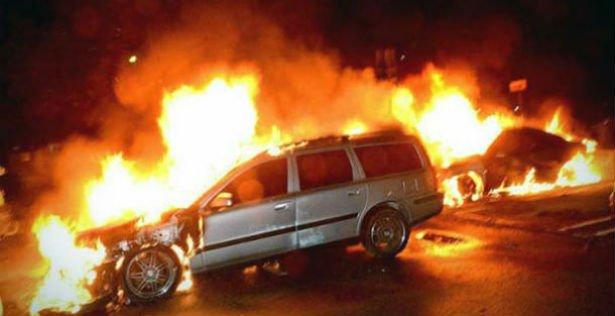 Billedresultat for biler sat i brand danmark
