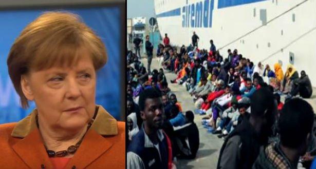 Angela Merkel har startet en ny migrantkrise, som...